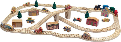 Maple Landmark 11240 NameTrain Town Train Set - Peazz Toys