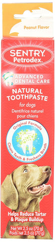 Petrodex Natural DogToothpaste - Peanut, 2.5 oz - Peazz Pet