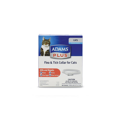 Central 16496 Adams Plus Flea & Tick Collar For Cats - Peazz Pet