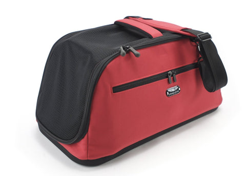 Sleepypod Air AI-RED In-Cabin Pet Carrier (Strawberry Red) Medium - Peazz.com - 1