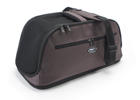 Sleepypod Air AI-CHO In-Cabin Pet Carrier (Dark Chocolate) Medium - Peazz.com - 1
