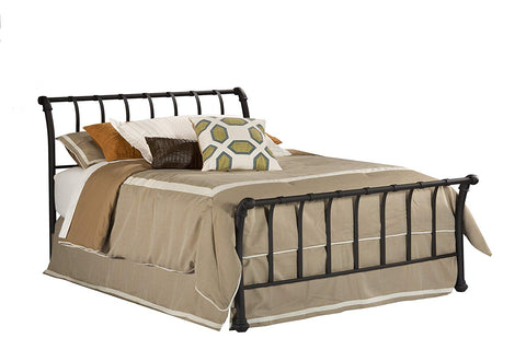 Hillsdale 1655BQR Janis Wrought Iron Sleigh Bed