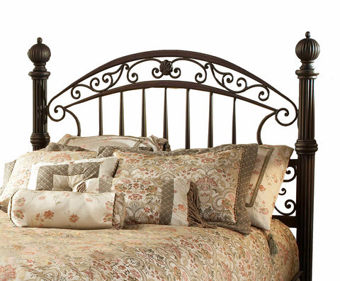 Hillsdale 1335HQR Cheasepeake Headboard with Rails Queen Size
