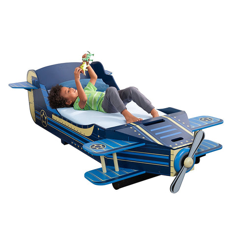 KidKraft 76269 Airplane Toddler Bed - Peazz.com