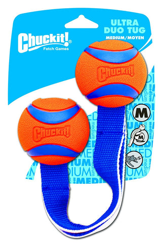Petmate PTM232201 Chuckit Ultra Duo Tug Dog Toy