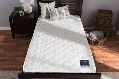 Baxton Studio E216B-R-Twin Alaura Twin Size Spring Mattress