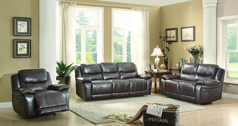 Collection Color Dark Brown Top Grain Leather Match Allenwood