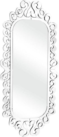 Zuo Modern 850005 Shiva Mirror Color Clear Wood Finish - Peazz.com