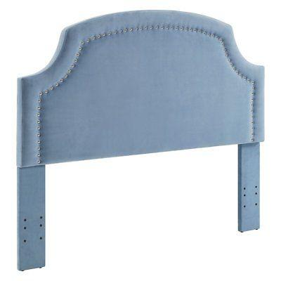 Linon 881010BLU01U Regency Ocean Full/Queen Headboard