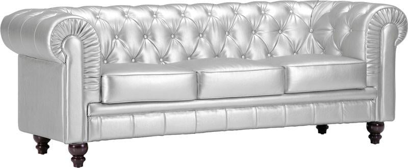 Sofa Color Silver Wood Aristocrat 1370 Product Photo
