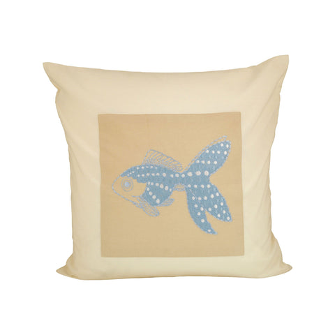 Pomeroy POM-901645 Sweetwater Collection Sand,Light Blue Finish Pillow