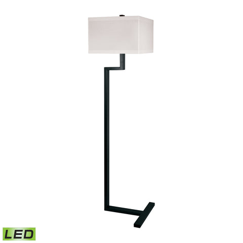 Lamp Works LAM-902-LED Metal Collection Bronze Finish Floor Lamp
