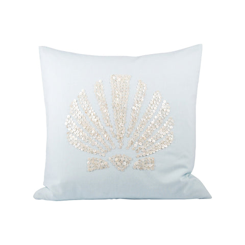 Pomeroy POM-902680 Seaside Collection Light Blue Finish Pillow