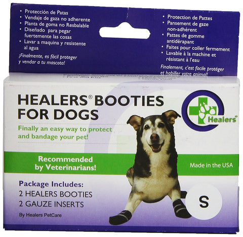 Bowserwear BOOT-SM Healers Booties For Dogs Box Set