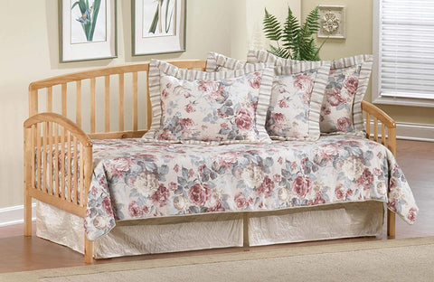 Hillsdale 1108DBLHTR Carolina Daybed w/Suspension Deck and Roll-Out Trundle - Country Pine