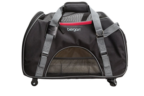 Bergan BER-88923 Wheeled Pet Comfort Carrier
