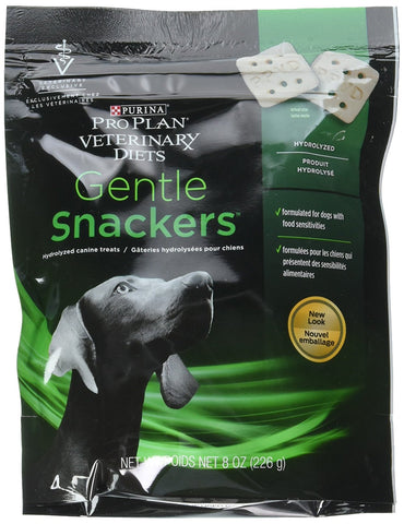 Purina Gentle Snackers Hypoallergenic Dog Treats (8 oz), Case of 8 - Peazz Pet