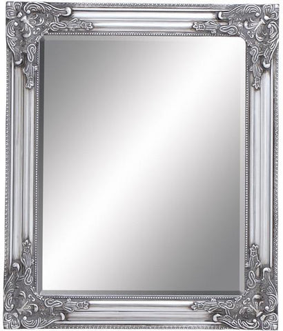 "Bayden Hill Wood Bevelled Mirror 20""W, 24""H - Peazz.com"
