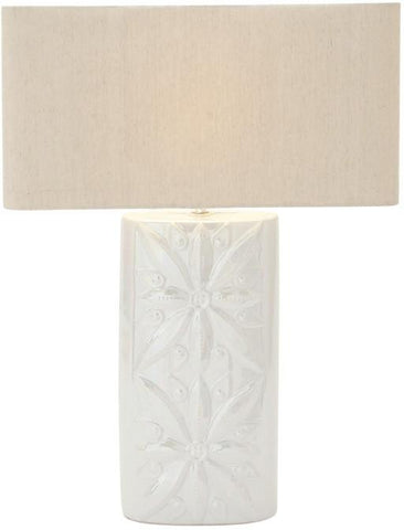 "Bayden Hill Ceramic Table Lamp 27""H - Peazz.com"