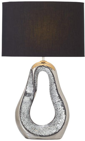 "Bayden Hill Ceramic Mosaic Table Lamp 28""H - Peazz.com"