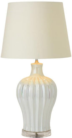 "Bayden Hill Ceramic Resin Table Lamp 27""H - Peazz.com"