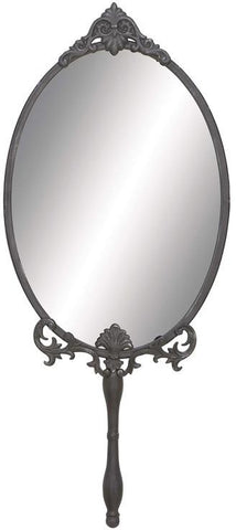 "Bayden Hill Metal Wall Mirror 13""W, 30""H - Peazz.com"