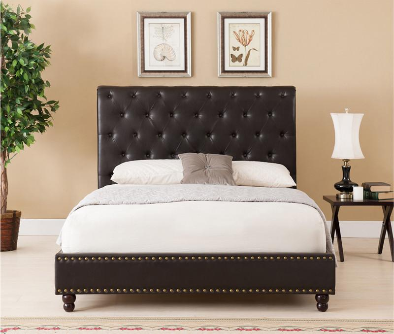 Boraam Bed Queen Brown Set Wentworth