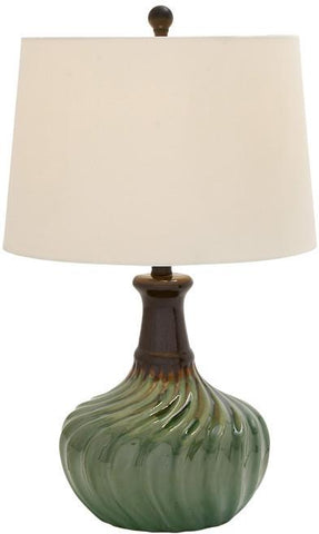 "Bayden Hill Ceramic Table Lamp 24""H - Peazz.com"