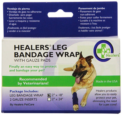 Bowserwear WRAP-SM Healers Wraps for Dogs