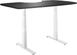 "Vifah A1 Smartdesk Standing Desk Dual-motor Frame with Electric Adjustable Height from 24"" to 50"", White"