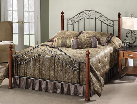 Hillsdale 1392BQR Martino Queen Size Bed with Rails