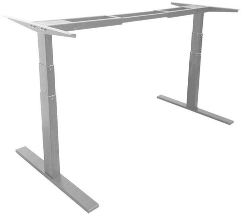 "Vifah A3 Smartdesk Standing Desk Dual-motor Frame with Electric Adjustable Height from 24"" to 50"", Grey"