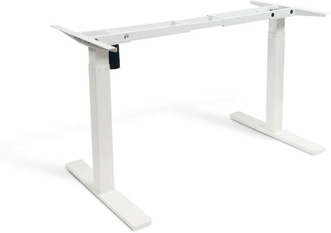 "Vifah A54 Smartdesk Standing Desk Single-motor Frame with Electric Adjustable Height from 28"" to 46"", White"