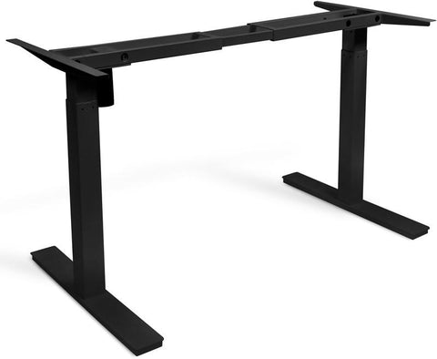 "Vifah A55 Smartdesk Standing Desk Single-motor Frame with Electric Adjustable Height from 28"" to 46"", Black"