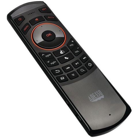 Adesso WKB-4030UB SlimTouch 4030 Smart TV Wireless Remote/Keyboard - Peazz.com