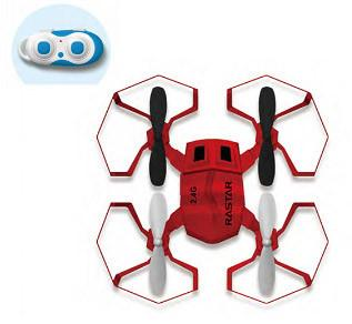 Galaxy Beatles 2.4G R/C 1:14 Scale Drone, Red