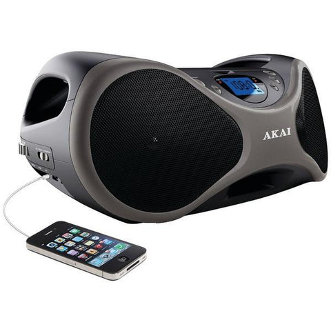 Akai CE2000 6-Speaker CD Boom Box - Peazz.com
