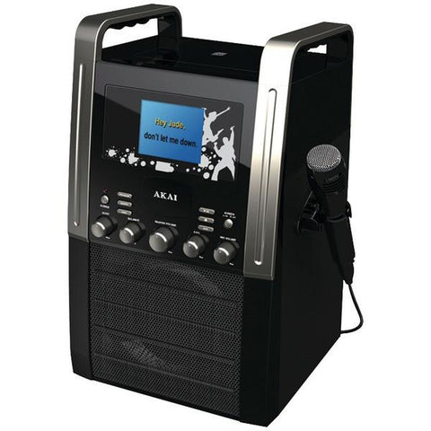 "Akai KS515 CD+G Karaoke Player with 3.5"" Screen - Peazz.com"