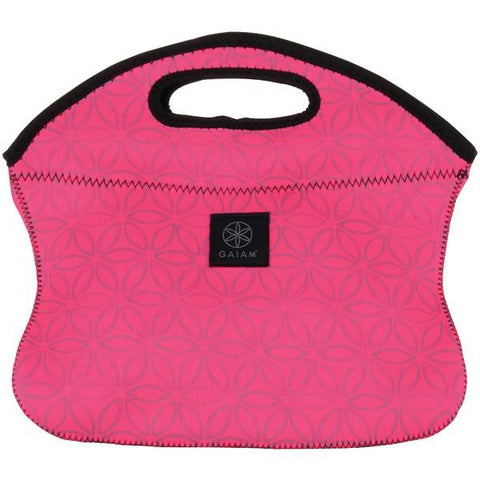 Gaiam 31574 Pink Flower of Life Lunch Clutch - Peazz.com