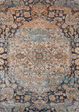 Momeni AMELIAM-01NVY5376 Turkish Machine Made Amelia Collection Navy Finish Rugs