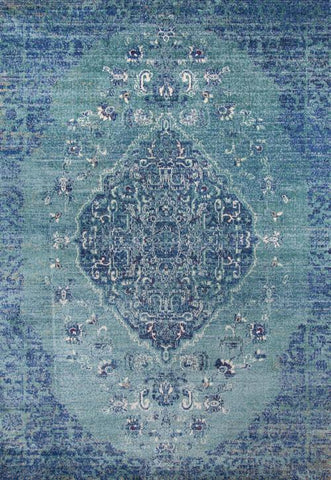 Momeni AMELIAM-02DEN7A9A Turkish Machine Made Amelia Collection Denim Finish Rugs