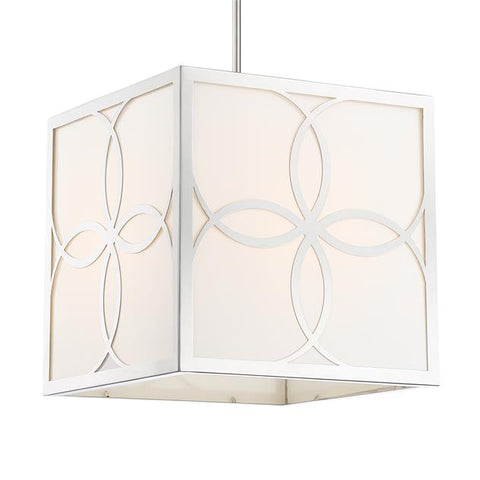Crystorama Anniversary 4 Light Polished Nickel Chandelier