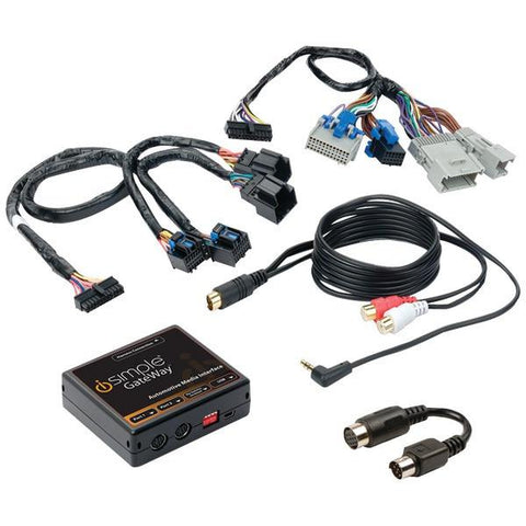 iSimple ISGM12 SiriusXM Kit for SXV-100/200 Tuner (for Select GM Vehicles) - Peazz.com