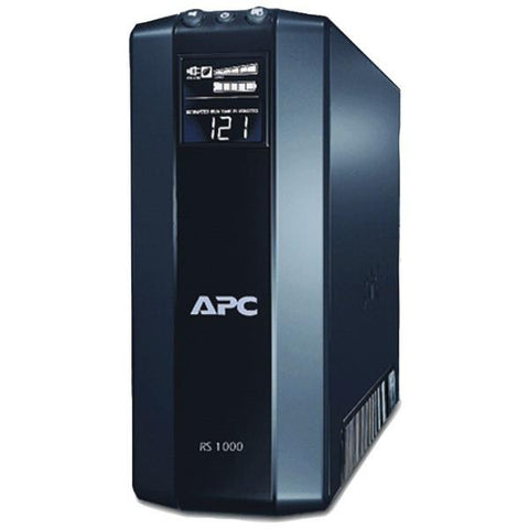 APC BR1000G Power Saving Back UPS RS System (Output Power Capacity: 1,000VA/600W; 8 outlets—4 UPS/Surge, 4 Surge only) - Peazz.com