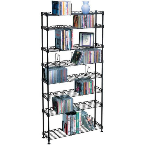 Atlantic 3020 Multimedia Storage Rack (8 shelves) - Peazz.com
