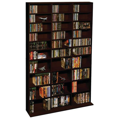Atlantic 38435714 Oskar 1,080-CD Multimedia Storage Cabinet - Peazz.com