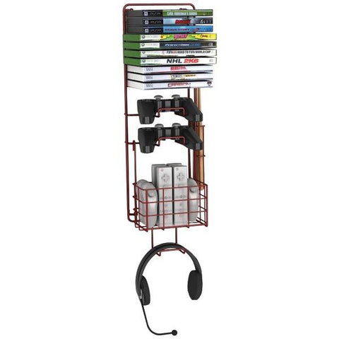 Atlantic 38806137 Wall-Mount Game Rack - Peazz.com