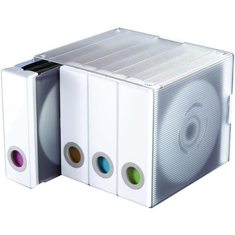 Atlantic 96635495 96-Disc Album Cube (White) - Peazz.com