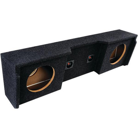 "ATREND A152-10CP BBox Series Subwoofer Boxes for GM Vehicles (10"" Dual Downfire, GM Extended Cab) - Peazz.com"