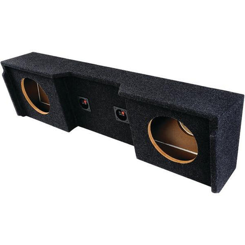 "ATREND A152-12CP BBox Series Subwoofer Boxes for GM Vehicles (12"" Dual Downfire) - Peazz.com"